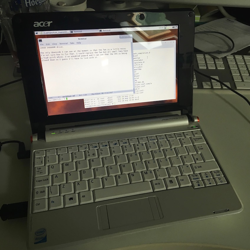 FreeBSD 11 on the Acer Aspire One <span class=